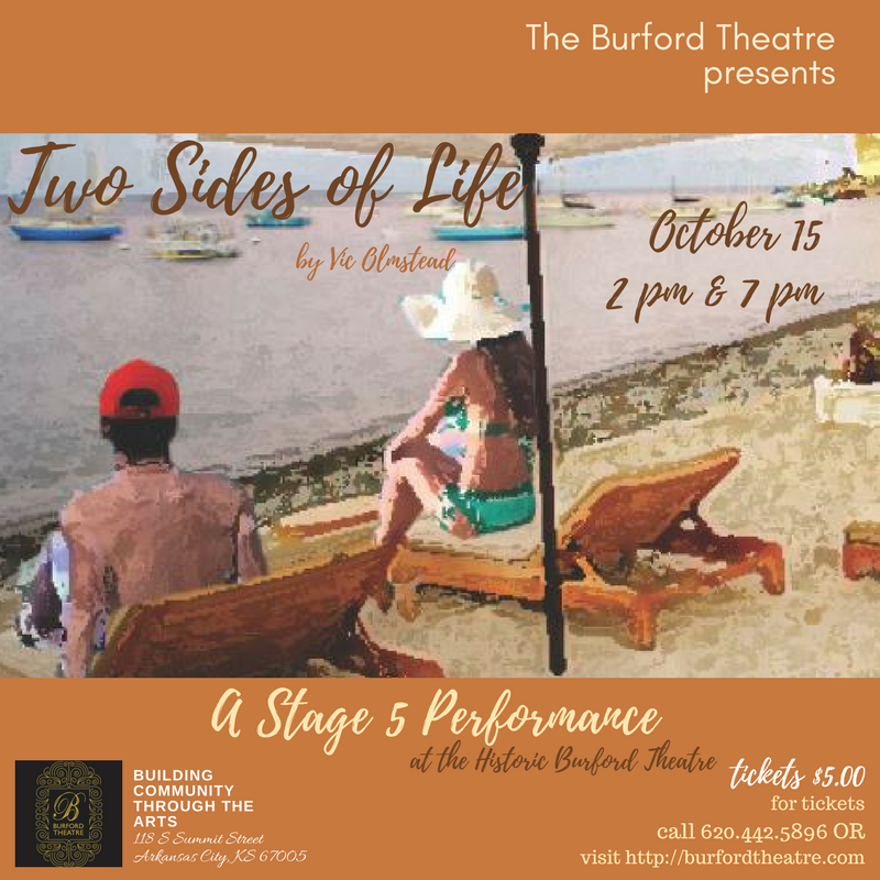 """October 15, 2:00 pm and 7:00 pm 